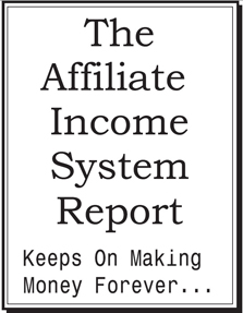 Affiliate Income System Report
