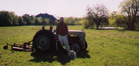Doyle and tractor pic