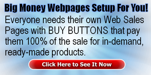 Big Money Webpages Setup For You!