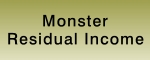 monster residual income